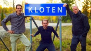 The road sign Kloten