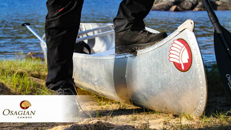 Osagian aluminum, Classic Canadian Canoes for sale in Sweden